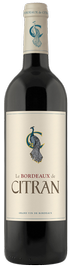 Вино красное сухое «Le Bordeaux de Citran Rouge Bordeaux» 2016 г.