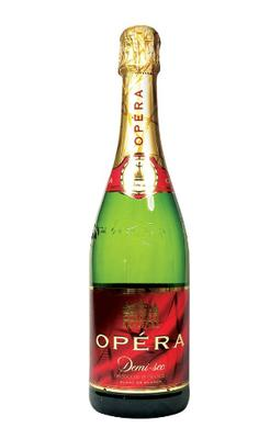 Вино игристое белое полусухое «Opera Blanc de Blancs»
