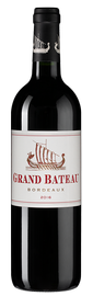 Вино красное сухое «Grand Bateau Rouge» 2016 г.