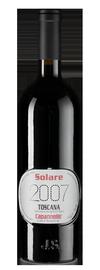 Вино красное сухое «Solare» 2007 г.