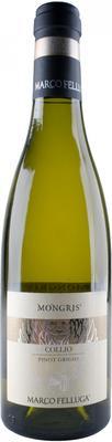 Вино белое сухое «Collio Pinot Grigio Mongris, 0.375 л» 2017 г.