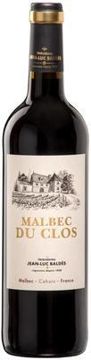 Вино красное сухое « Malbec du Clos Cahors» 2015 г.