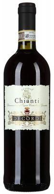 Вино красное сухое «Chianti Decordi» 2016 г.