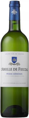 Вино белое сухое «L'Abeille de Fieuzal, 0.75 л» 2015 г.