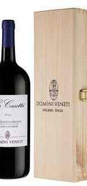 Вино красное полусухое «Domini Veneti Valpolicella Classico Superiore» 2015 г., в деревянной подарочной упаковке
