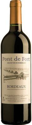 Вино красное сухое «Pont de Fort Rouge» 2017 г.