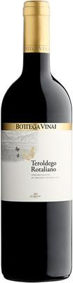 Вино красное сухое «Bottega Vinai Teroldego Rotaliano» 2015 г.