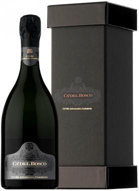 Вино игристое белое брют «Franciacorta Brut Cuvee Annamaria Clementi» 2008 г.