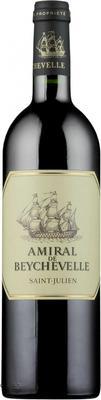 Вино красное сухое «Amiral De Beychevelle Saint-Julien, 0.375 л» 2015 г.