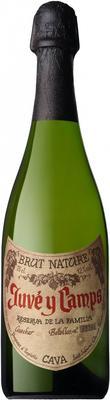 Вино игристое белое экстра брют  «Cava Reserva de la Familia» 2015 г.