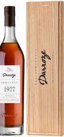 Арманьяк «Bas-Armagnac Darroze Unique Collection Domaine de Jaulin a Bretagne d'Armagnac» 1977 г., в деревянной коробке