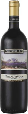 Вино красное сухое «Portobello Nero D`Avola Terre Siciliane» 2017 г.