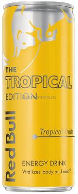 Энергетический напиток «Red Bull Tropical Edition»