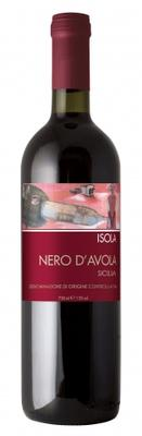 Вино красное сухое «Isola Nero D'Avola» 2017 г.