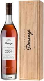 Арманьяк «Darroze Bas-Armagnac Domaine Couzard Lassalle 2004» 2004 г., в деревянной подарочной упаковке