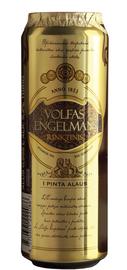 Пиво «Volfas Engelman Rinktinis» в жестяной банке