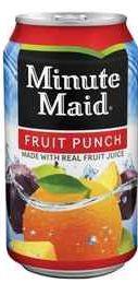 Газированный напиток «Minute Maid Fruit Punch»