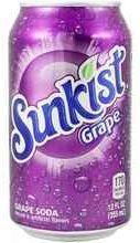 Газированный напиток «Sunkist Grape»