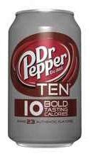 Газированный напиток «Dr. Pepper Ten»