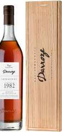 Арманьяк «Bas-Armagnac Darroze Unique Collection Domaine de Bertruc au Freche» 1982 г., в деревянной подарочной упаковке