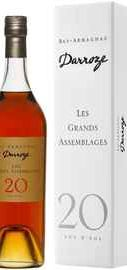 Арманьяк «Les Grands Assemblages 20 ans d'age» в подарочной упаковке