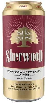 Сидр «Sherwood Pomegranate»
