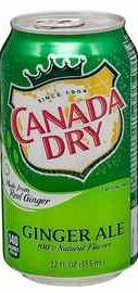 Газированный напиток «Canada Dry Ginger Ale »