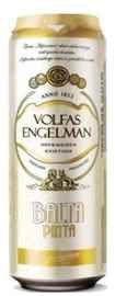 Пиво «Volfas Engelman Balta Pinta» в жестяной банке