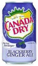 Газированный напиток «Canada Dry Blackberry»