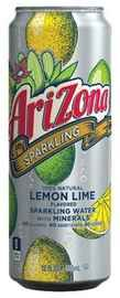 Газированный напиток «Arizona Sparkling Water + Minerals Lemon Lime »