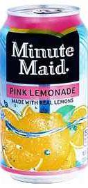 Газированный напиток «Minute Maid Pink Lemonade »