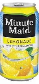 Газированный напиток «Minute Maid Lemonade»