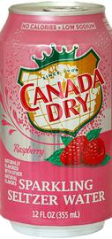 Газированный напиток «Canada Dry Raspberry»