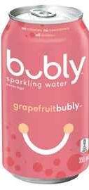 Газированный напиток «Bubly Grapefruit»