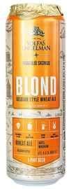 Пиво «Volfas Engelman Blond» в жестяной банке