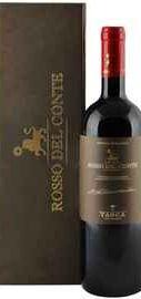 Вино красное сухое «Rosso del Conte» 2012 г., в подарочной упаковке