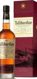 Виски шотландский «Single Malt Tullibardine 228 Burgundy Finish» в подарочной упаковке