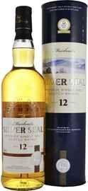 Виски шотландский «Single Malt Muirhead's Silver Seal 12 Years Old» в подарочной упаковке