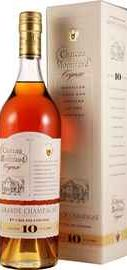Коньяк французский «Grande  Champagne 1-er Cru Chateau de Montifaud 10 Years Old» в подарочной упаковке