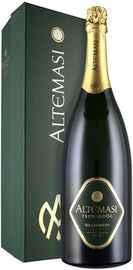 Вино игристое белое брют «Altemasi Millesimato Brut» 2014 г., в подарочной упаковке
