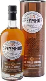 Виски шотландский «Speymhor 15 Years Old» в тубе