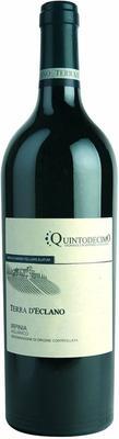 Вино красное сухое «Quintodecimo Terra D'Eclano» 2015 г.
