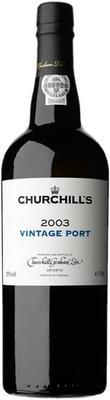 Портвейн «Churchill's Vintage Port» 2003 г.