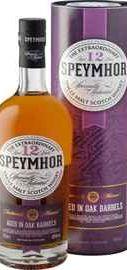 Виски шотландский «Speymhor 12 Years Old» в тубе