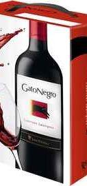 Вино красное полусухое «Gato Negro Cabernet Sauvignon» 2016 г., тетрапак