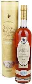 Коньяк французский «Petite Champagne Chateau de Montifaud X.O.» в подарочной упаковке