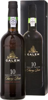 Портвейн «Calem 10 Years Old» в подарочной упаковке