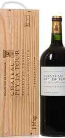Вино красное сухое «Chateau Pey La Tour Reserve du Chateau» 2013 г., в подарочной деревянной упаковке