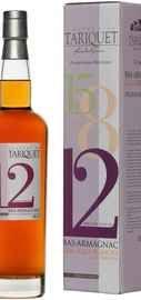 Арманьяк «Bas-Armagnac Chateau du Tariquet Folle Blanche 12 years» в подарочной упаковке