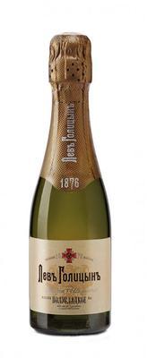 Шампанское белое полусладкое «Наследие мастера Лев Голицынъ, 0.2 л»